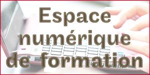 Acc�s � l'espace num�rique de formation